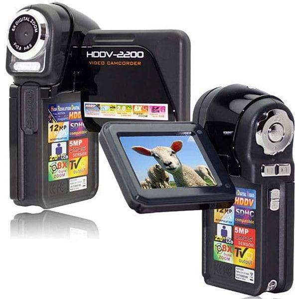 SVP HDDV2200 5MP 2-inch LCD Black Digital Camcorder