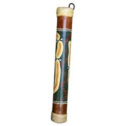Hand Painted 16-inch Bamboo Rainstick (Indonesia)