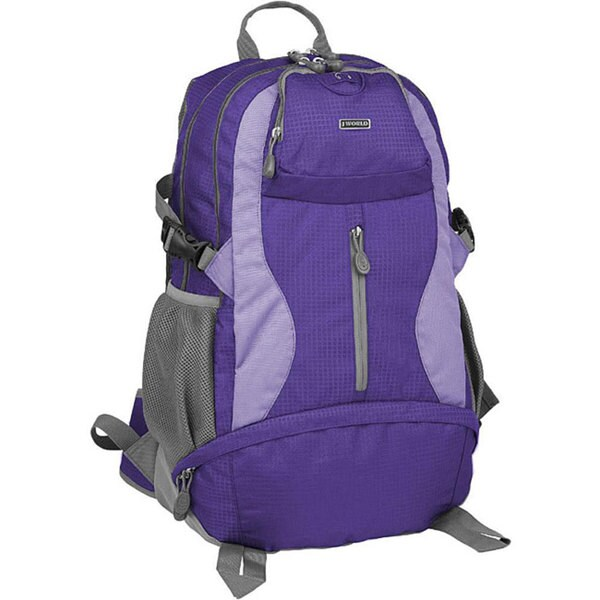 J World 'Elpaso' 21-inch Purple Laptop/ Climbing Backpack