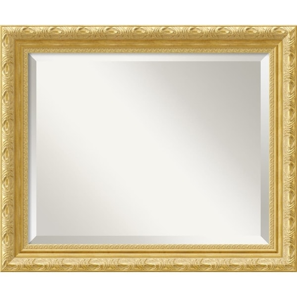 Wall Mirror Medium, Versailles Gold 20 x 24-inch