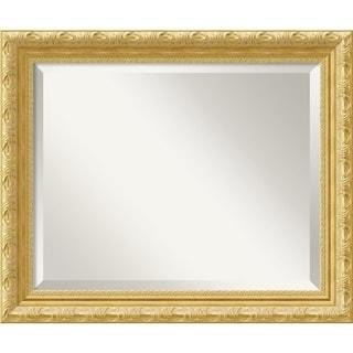Wall Mirror, Versailles Gold Wood - Antique Gold