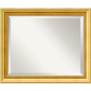 Townhouse Gold 23 x 19 Medium Wall Mirror