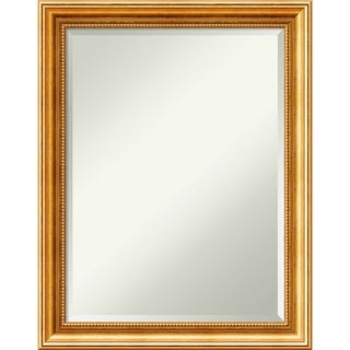 Wall Mirror, Townhouse Gold Wood