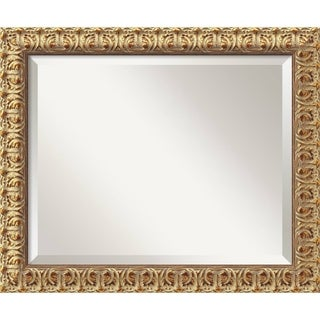 Wall Mirror Medium, Florentine Gold 20 x 24-inch