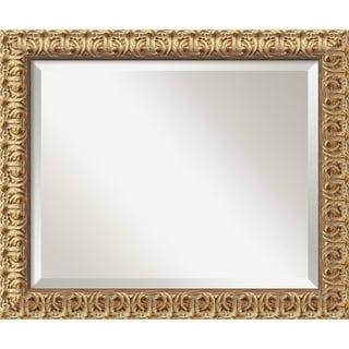 Wall Mirror Medium, Florentine Gold 20 x 24-inch