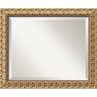 Wall Mirror, Florentine Gold Wood
