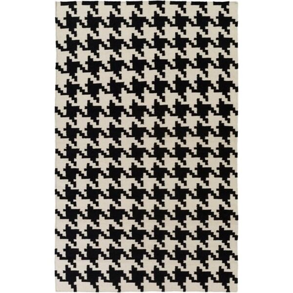 Hand-woven Camrose Wool Area Rug (8' x 11') - 8' x 11'