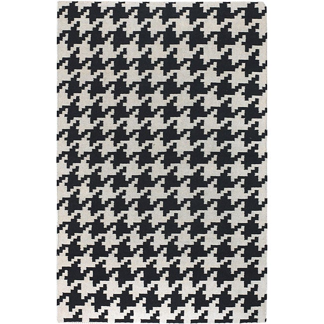 Hand-woven Camrose Wool Rug (8' x 11')