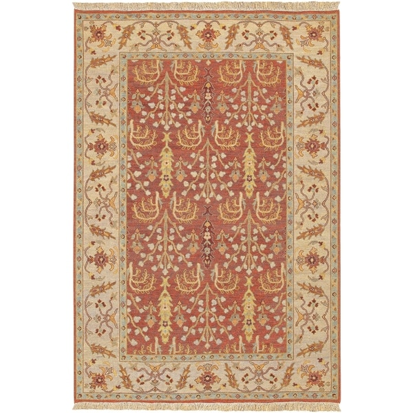 Hand-knotted Legacy New Zealand Wool Area Rug - 8' x 10'