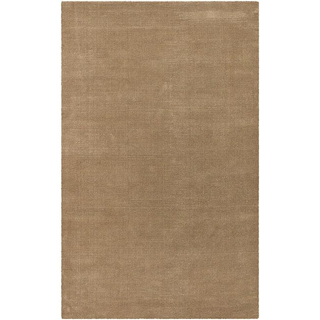Hand-woven Beige Jute Pantheon Rug (5' x 8')