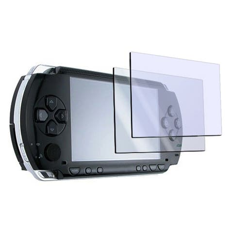 Insten LCD Screen Protector with Cloth for Sony PSP (Pack of 2)