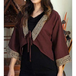'Thai Riches' Cotton Blouse (Thailand)
