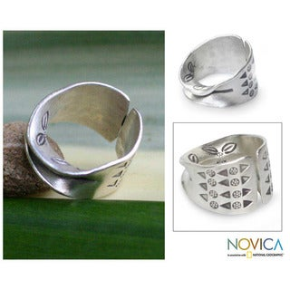 Sterling Silver 'The Enigma' Ring (Thailand)