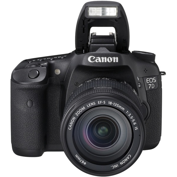 Canon EOS 7D 18 Megapixel Digital SLR Camera with Lens - 28 mm - 135