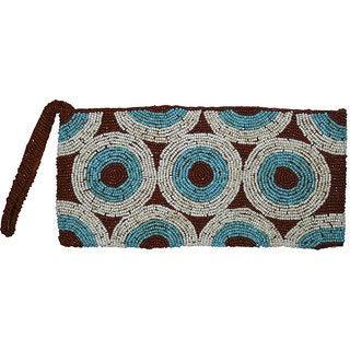 Handmade 'Earth Circles' Beaded Handbag (Indonesia)