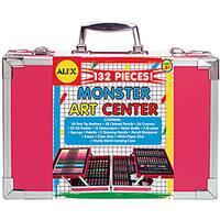 Alex 132-piece Children's Monster Art Center with Storage Trays