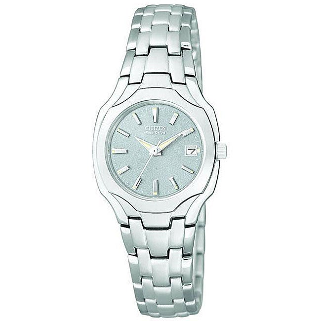 Shop Citizen Women s Eco-Drive Stainless Steel Watch - Free Shipping Today  - Overstock - 4429752 8c823ece9