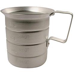 Johnson-Rose Corporation Aluminum Measuring Cup