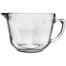 Anchor Hocking Corporation 64-oz Glass Batter Bowl (Pack of 4)