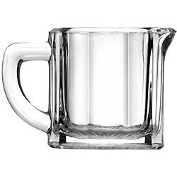 Anchor Hocking Corporation 2.5 oz Glass Creamer (Case of 24)
