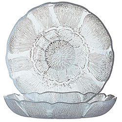 Cardinal International 8-in Fleur Soups / Salad Plates (Case of 36)