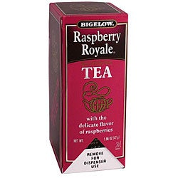 RC Bigelow Inc. 28 Bags Raspberry Royal Tea (Pack of 6)