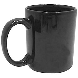 Tri-S Superior Screen 11-oz Black Mug (Case of 36)