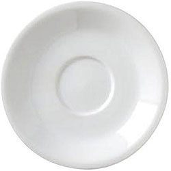 Vertex China Saucer, Cappuccino (Case of 36)