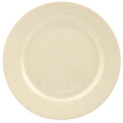 Vertex China 10.5-in Rolled Edge Plate (Pack of 12)