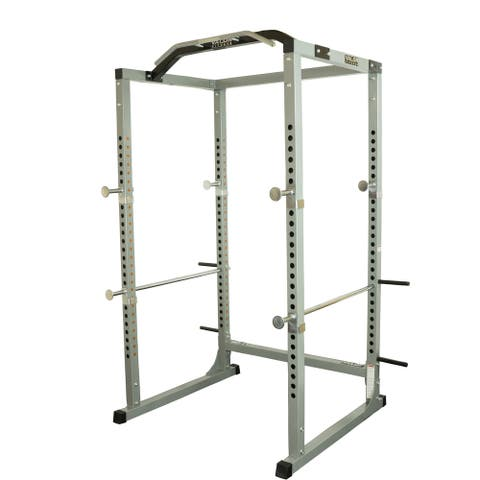 Valor Fitness BD-11 Hard Power Rack w/Available Power Cage Bundle Options for a Complete Weightlifting Home Gym - Grey