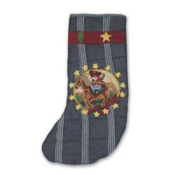 Patch Magic Hand-quilted Lil' Buckaroo Stockings (Set of 2)