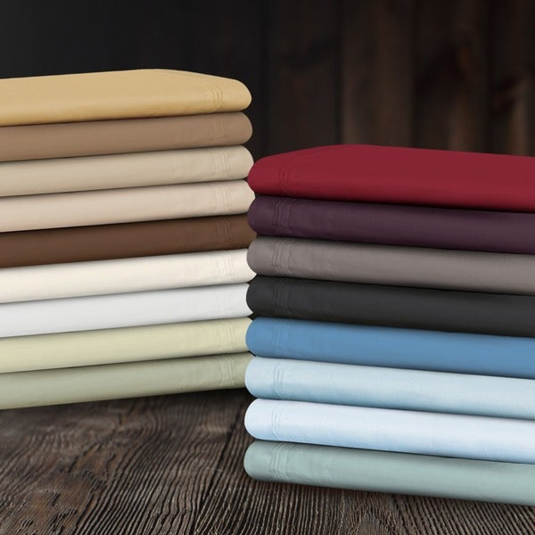 Superior Egyptian Cotton 650 Thread Count Spit King Deep Pocket Sheet Set