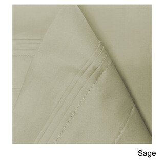Superior Egyptian Cotton 650 Thread Count Split King Solid Deep Pocket Sheet Set (5 options available)