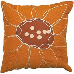 Rust/ Brown Throw Blanket and Decorative Pillow Set