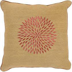 Rust/ Brown Throw and Decorative Pillow Set - Thumbnail 2