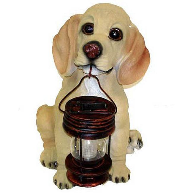Generic Dog Lantern Solar Light Lamp