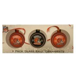 Cincinnati Bengals Glass Ornaments (Set of 3)