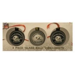 Dallas Cowboys Glass Ornaments (Set of 3) - Thumbnail 2