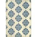 Safavieh Hand-hooked Miff Ivory/ Blue Wool Rug (8'9 x 11'9)