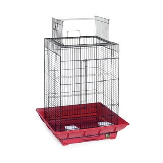 Prevue Pet Products SP851 Clean Life Playtop Cage SP851 (Option: Red)