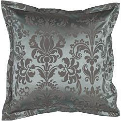 Blue/Beige Throw Blanket and Square Decorative Pillows - Thumbnail 2