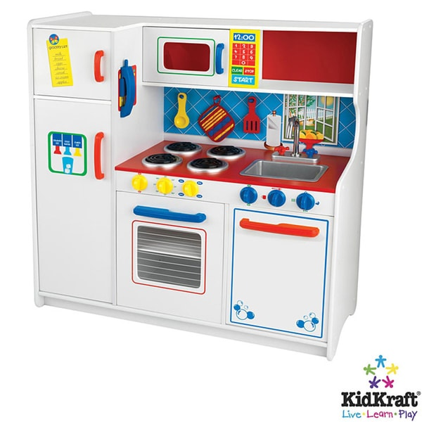 Kidkraft Deluxe X27 Lets Cook Kitchen