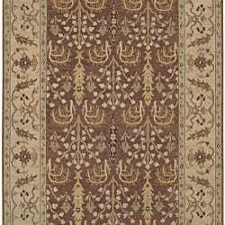 Hand-knotted Legacy New Zealand Wool Rug (6' x 9')