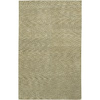 Hand-knotted Royal Abstract Design Wool Area Rug (2 '6 x 10) - 2'6 x 10'
