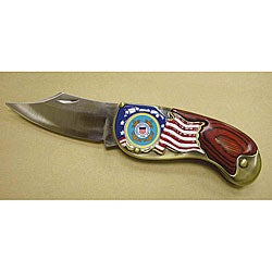 American Coin Treasures Armed Forces Coast Guard Quarter Pocket Knife