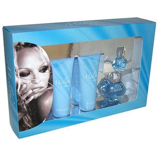 Pamela Anderson Malibu Women's Four-piece Fragrance Gift Set