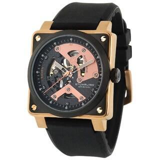 Stuhrling Original Men's Raven Diablo Water-resistant Automatic Watch