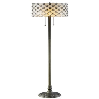 Link to Tiffany-style Jeweled Floor Lamp Similar Items in Floor Lamps