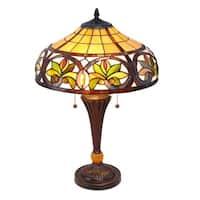 Tiffany-style Sunrise Table Lamp