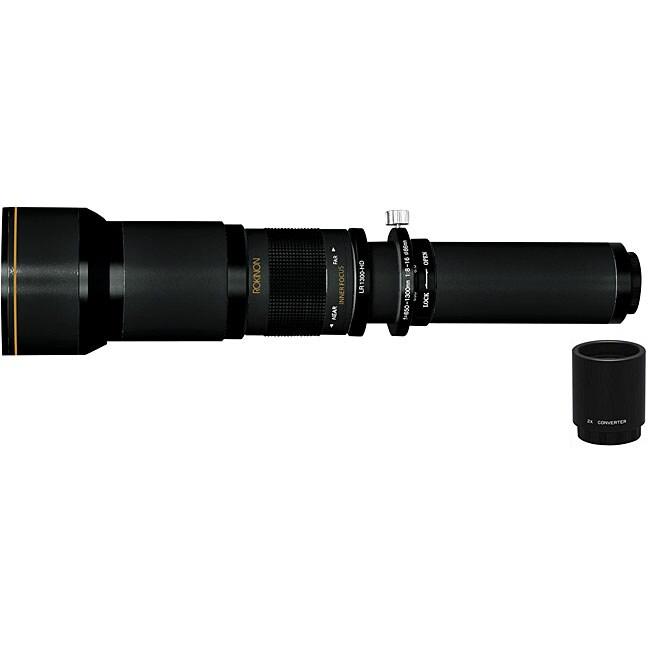 Rokinon/ Canon 650-2600mm Super Telephoto Zoom Lens
